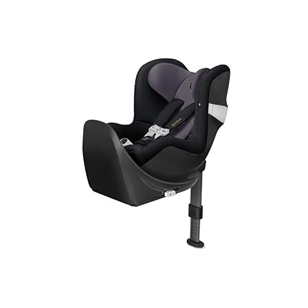 CYBEX Gold Sirona M2 i-Size Car Seat, Incl. Base M, Incl. SensorSafe chest clip, From Birth to approx. 4 years, Up to Max. 105 cm Height, Premium Black  Cybex gold car seat sirona m2 i-size incl. sensorsafe incl. base m Item number: 519001843 Colour: premium black 1