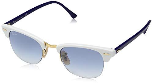Ray-Ban Unisex-Erwachsene 0RB4354 Sonnenbrille, Schwarz (White), 48.0