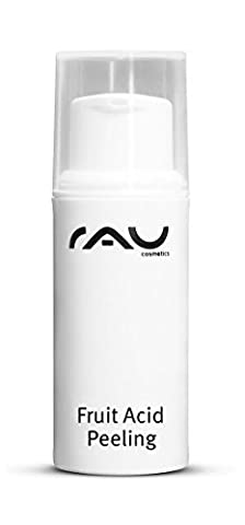 RAU Fruit Acid Peeling 5 ml - Best Anti-Ageing Peel For Face - Scrub With Mandelic, Lactobionic, Salicylic & Lactic Acid - Gentle Exfoliant For Wrinkles, Acne, Scars, Couperose, Rosacea, Sun Age Spots, Sensitive Mature Oily Combination Skin - Mini Travel Size