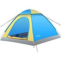 popa 3-4 Tenda Persone di campeggio esterna antipioggia automatico (3 colori facoltativi) risparmio energetico ( Color : A , Size : 200*200*130cm