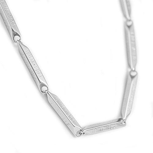 """Frei.Wild - \""""Textglieder\"""" Halskette, Farbe: Silber"""