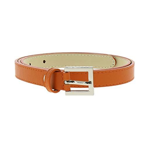 Fashiongen Cintura 2 vera pelle italiana per le donne LINDA
