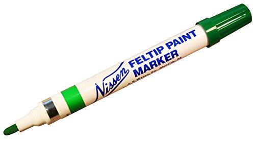 Nissen 436-00355 Gr-n Felt Tip Paint Marker