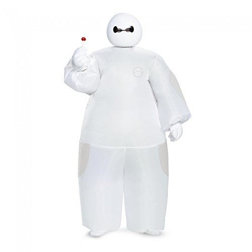 White Baymax Inflatable Child Costume