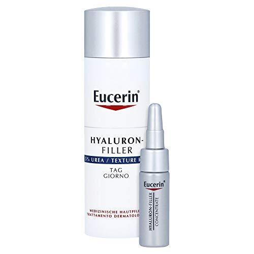 Eucerin Hyaluron-Filler 5{a34bf400c3098e4d7945a8e84fa79b11eb5ded093b793b918832240f4b12a1d8} Urea Tag Creme, 50 ml