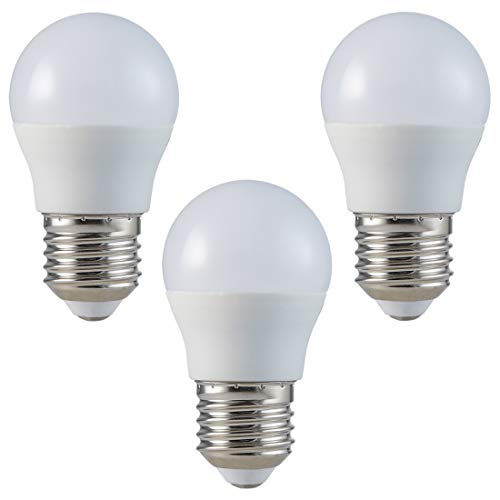 3-er Pack - ZONE LED SET - E27 - G45-5.5W - LED Lampe - Warmweiss (2700K) - 470 Lm - Entspricht 40W - Abstrahlwinkel 180°