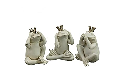 Frosch Trio ~ ich höre sehe sage nichts ~ Froschkönig