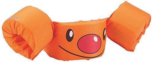 Sevylor Schwimmflügel Puddle Jumper, für Kinder und Kleinkinder von 2-6 Jahre, 15-30kg, Schwimmscheiben, orange