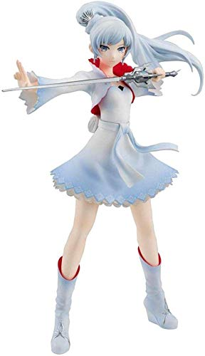 No Figura Especial Weiss Schnee 17 cm Anime Kawaii Japón Productos limitados Modelo Hecho a Mano Diseño Creativo Regalo para Novio