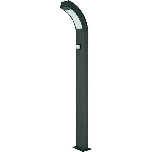 Lampe LED d'extérieur avec détecteur de mouvements Prebent 3.84 W anthracite 100 cm