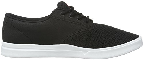 Etnies Jameson Sc, Baskets Basses Homme Noir - Black (Black/White/Red978)