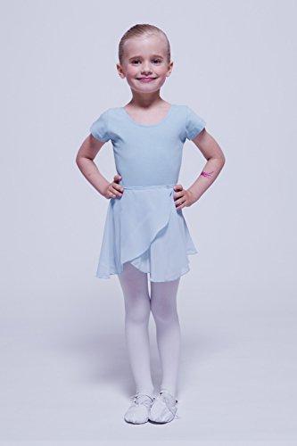 tanzmuster jupe portefeuille Emma en mousseline pour enfants - danse ... d4e4c40cb18
