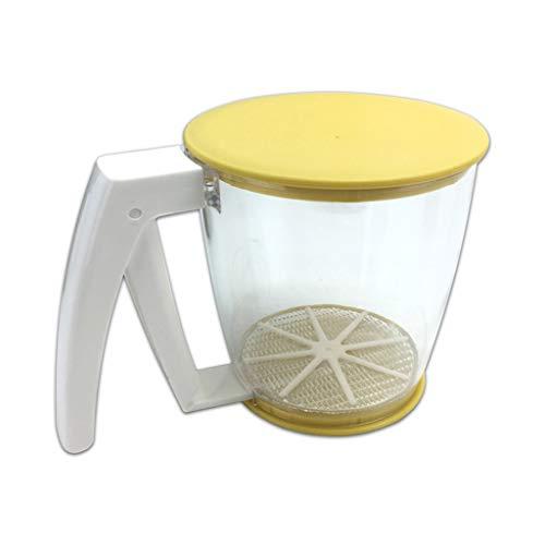 Einhandmehlsieb Handsieb Mehl und Zucker für Feinstaub Mehlsieb