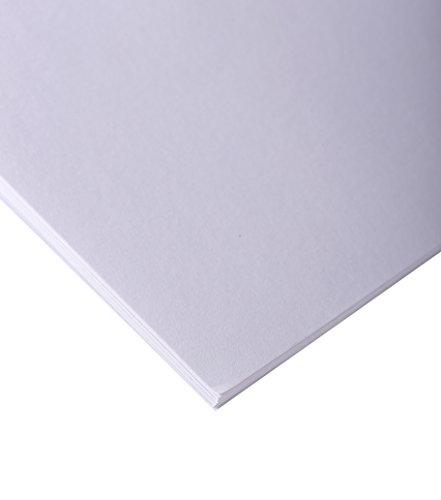 Clairefontaine 37262C Skizzenpapier (90 g, DIN A1, 59,4 x 84,1 cm, 25 Blatt, ideal für Künstler oder die Schule) weiß