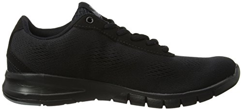 Lonsdale Remi, Chaussures de Running Compétition Homme Noir (noir)