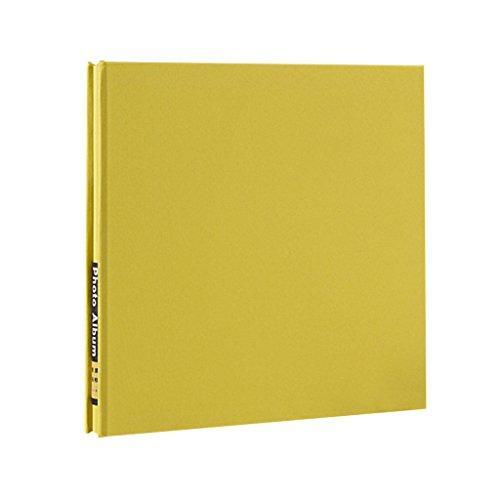 FOOHAO- Albums photo avec des pages collantes, livre Souvenir d'entreprise minimaliste, carnet de voyage créatif, 20 pages (40 Surface) (Couleur : B-White Card)