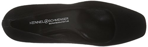 Kennel und Schmenger Schuhmanufaktur - Isabel, Scarpe col tacco Donna Nero (Schwarz (schwarz 380))