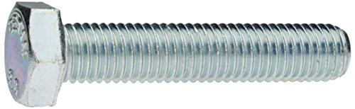 Aparoli sja-118165 QB pour vis à 6 pans avec filetage jusqu'à tête DIN 933 8.8 galvanisé 5 x 110 VE : Lot de 200 qualité : Basic