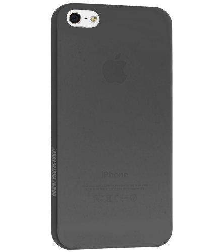 Horny Protectors ultra dünnes Schutzhülle Case inkl. Ultra Clear Displayschutzfolie für Apple iPhone 4 (3mm) blau schwarz