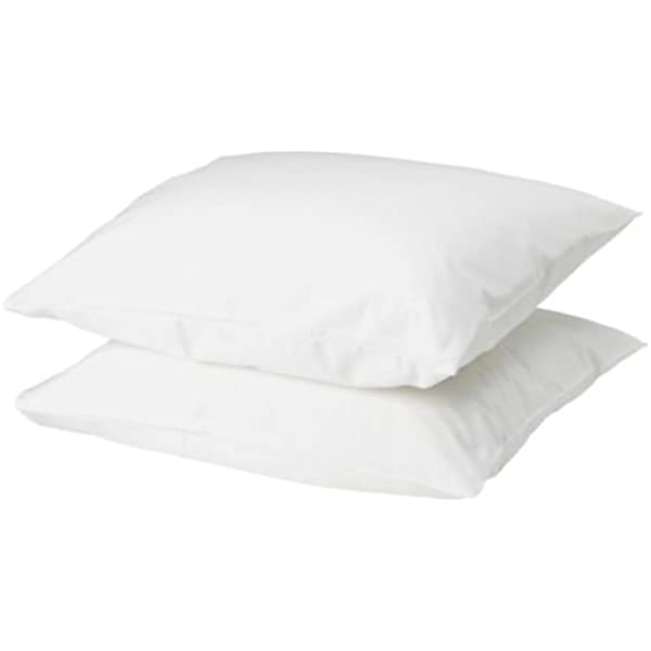 IKEA DVALA Pillowcase, white 2 pack