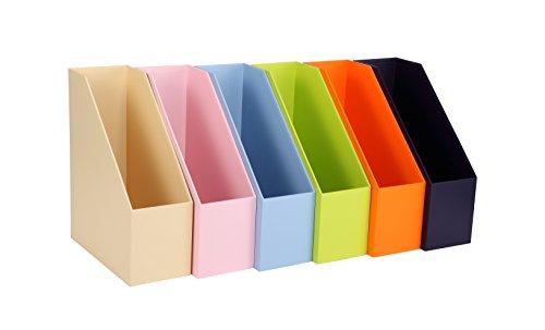 vpack S03Home Office Datei Rack Aufbewahrung, Magazin Organizer Halter lichtgrün