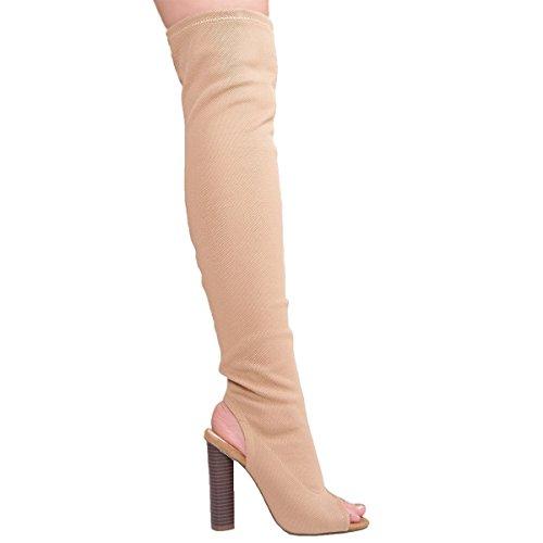 Shoesdays, Damen Stiefel & Stiefeletten  schwarz schwarz 35.5, schwarz - mokka - Größe: 41