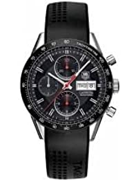 TAG Heuer Carrera Calibre 16 Chronograph Day-Date 41mm CV201AH.FT6014