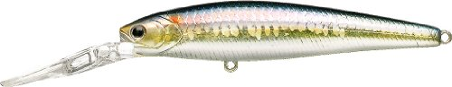 Lucky Craft Staysee 90SP Version 2 Köder, MS American Shad, 3-1/2-Inch -