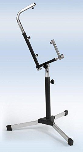 Mpe - supporto stand professionale regolabile per fisarmonica a piano diatonica con treppiedi ricihiudibili mod: sf55