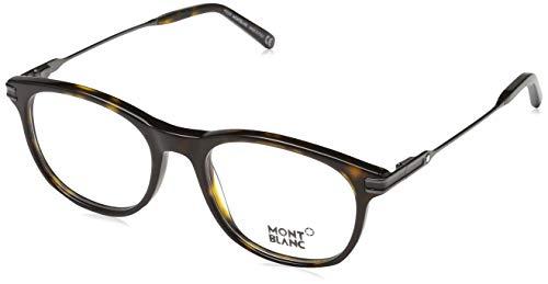 Montblanc Unisex-Erwachsene Mont Blanc Mb0724 055-51-18-145 Brillengestelle, Braun, 51