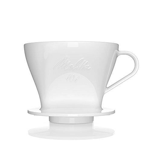 Melitta 101 Permanent Porzellan Kaffeefilter 101 für Filtertüten, größe 101