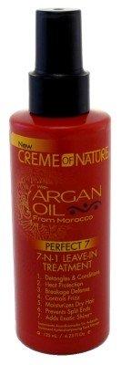 Creme of Nature Huile d'Argan Perfect7 7-N-1 congé en 125 ml (pack de 6)