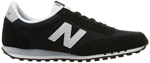 New Balance Damen Wl410npb-410 Laufschuhe Mehrfarbig (Black/White 048Black/White 048)