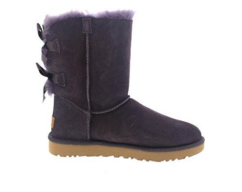 Ugg W Bailey Bow II Nightfall Boots - Stivaletti Viola Con Fiocchi Violet
