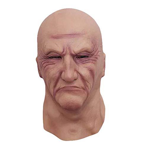aloiness Halloween mask Horror Plüsch Bloody Clown Latex Maske Haunted Haus Dressing Kopf Cover Ghost Party Maske für Halloween-Requisiten