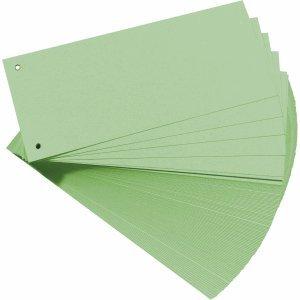 Trennstreifen 10,5x24cm grün 180g Manilakarton 100St