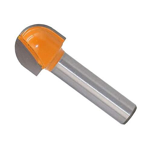 8mm Schaft 16mm Dia Holzbearbeitung Runde Nase Cove Core Box Fräser Cutter -