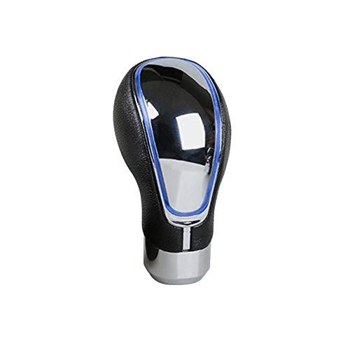 Schaltknauf Touch-Bewegung aktivierte LED-Licht Shift-Kopf Universal-Auto Schaltknauf Schalthebel Getriebe Blau Rot Bunt Schaltknauf ZHQHYQHHX (Color : Blau, Size : Kostenlos)