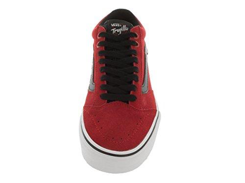 Vans Rata Vulc Sf - Scarpe da Ginnastica Basse Uomo, Rosso (port Royale), 38.5 EU Bright red/black