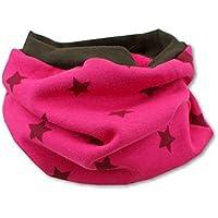 Unbekannt Kinder Loop Schlauchschal Kinderschal Elefantenparty pink Rundschal f/ür M/ädchen von Kleine K/önige Fleece pink