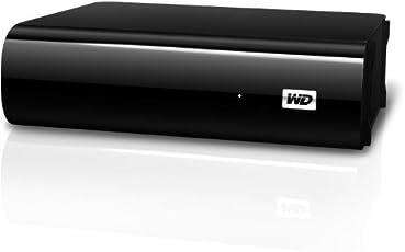 """Western Digital 2TB My Book AV TV Externe Festplatte Desktop 3,5"""" USB3.0 und 2.0 für TV Aufnahmen, reibungslose AV-Wiedergabe, USB-Kabel – 2 m, Flexibles Design für liegende oder stehende Aufstellung"""