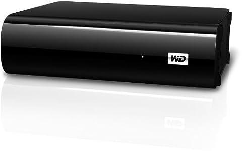 Western Digital 1TB My Book AV TV externe Festplatte USB3.0 und 2.0 für TV Aufnahmen, reibungslose AV-Wiedergabe, USB-Kabel – 2 m, Flexibles Design für liegende oder stehende Aufstellung
