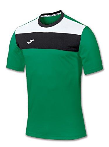 Joma 100224.450 - Maglia divisa a manica corta da uomo, colore verde  Taglia XL
