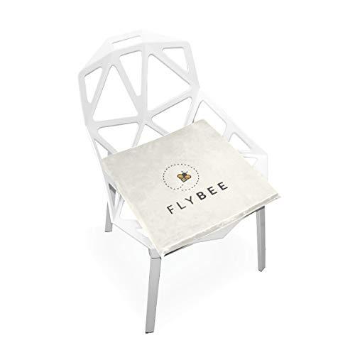 (Hartes Arbeiten Nette Biene Benutzerdefinierte Weiche Rutschfeste Quadratische Memory Foam Chair Pads Kissen Sitz Für Home Kitchen Esszimmer Büro Schreibtisch Möbel Innen 16x16 Zoll)