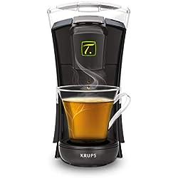 Krups Spécial T Machine à Thé Mini T Théière Electrique à Capsules Noir YY4121FD