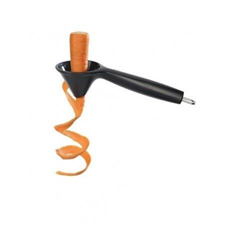 Lurch 230070 Tango Spiralschneider für Gemüsespaghetti, 3 mm, schwarz