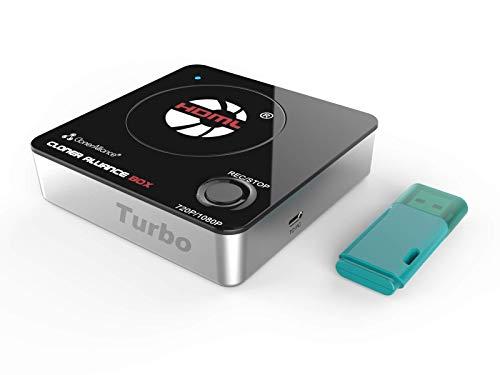 HDML-Cloner Box Turbo, dispositivo di acquisizione hdmi 1080p di prossima generazione e videoregistratore. Streaming live. Flash drive da 16 GB incluso.