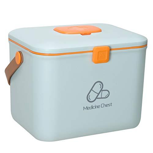 31dB1ZbnFqL - DreamyLife Caja de Almacenamiento de Medicamentos Caja de Medicamentos Caja Maquillaje Botiquín Caja de Almacenamiento de Plástico Botiquín de Primeros Auxilios