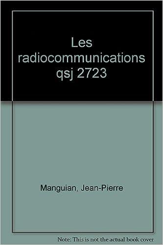 Livres gratuits en ligne Les radiocommunications pdf