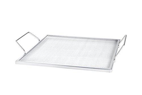 Allgrill® Rejilla de Parrilla de acero inoxidable, 31x 31cm